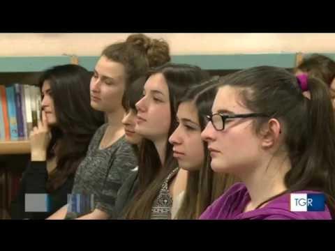 Concorso Edileco Liceo artistico Aosta - Servizio TGR RAI VdA
