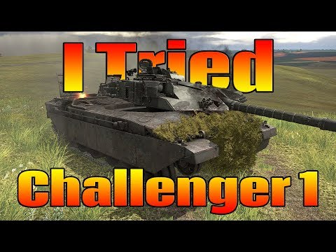 War Thunder: I tried Challenger 1 Fail MontageDiscussion