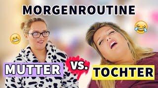MUTTER vs. TOCHTER : MORGENROUTINE PARODIE | Russen Edition | Annaxo