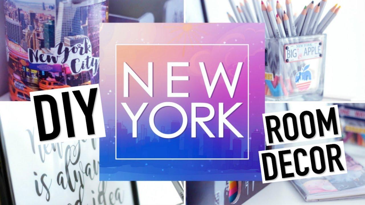 Idee Deco Chambre Londres diy new york facile : deco chambre / back to school (français)