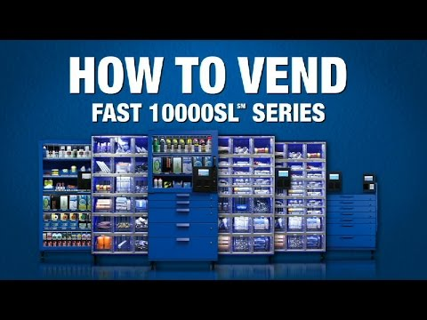 How To Vend From A 10000SL Series Machine