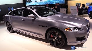 2018 Jaguar XJR 575 - Exterior and Interior Walkaround - 2018 New York Auto Show