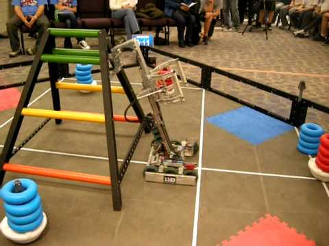 Vex Robotics U.S. Nationals - Team 1103 85pt Programming Skills Challenge