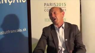 COP21 Entretien avec Jean-Luc, Ambassade de France en Slovaquie