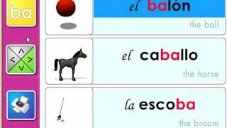 Las sílabas ba-be-bi-bo-bu - Syllables