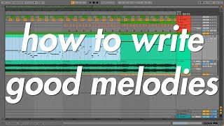 Theory in the DAW 6 - How to Write Good Melodies using Music Theory!