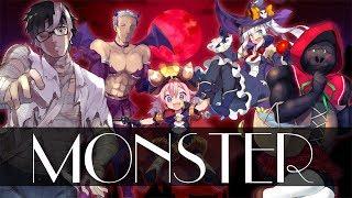 【オリジナルMV】「嵐 / Monster」歌ってみた【合唱】
