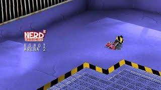 Nerd³ Challenges! Tiny Robots! - Robot Arena 2