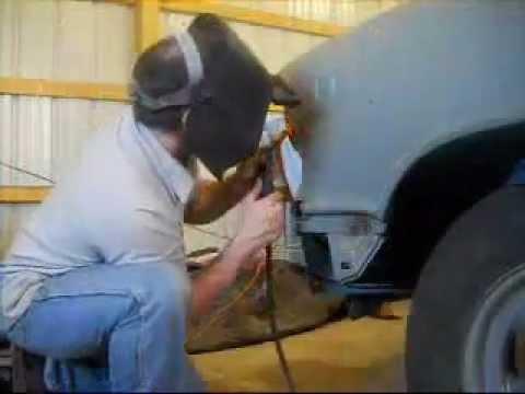 4 Door 1957 Chevy Belair Restoration Project: Part 1- Grinding And Welding