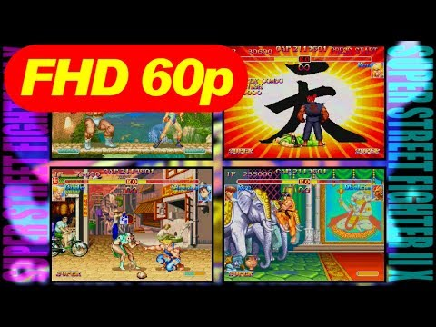 [FHD] SUPER-BAR CONTINUOUS MAX - SUPER STREET FIGHTER II X for Matching Service [60p]