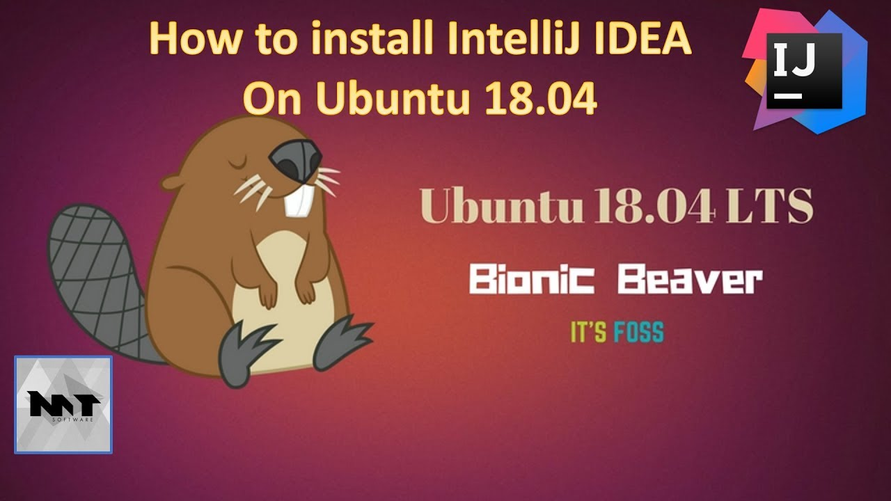 How to install IntelliJ IDEA on Ubuntu 18 04