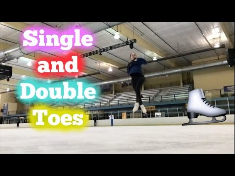 Single and Double Toe Loops | Lessons With Eye Katie