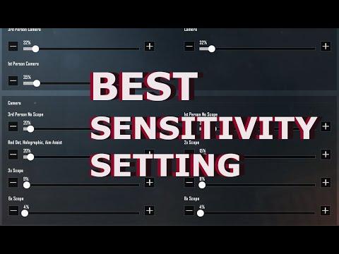 Sensitivity Settings : PUBG Mobile