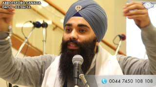 GURBANI MOULDS US | KATHA | ABBOTSFORD DAY 1 | 02/06/16