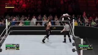 WWE 2K17 online quitter
