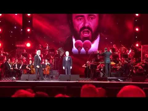 Jose Carreras, Placido Domingo & Luciano Pavarotti, Arena di Verona, Italy 🇮🇹 06.09.17
