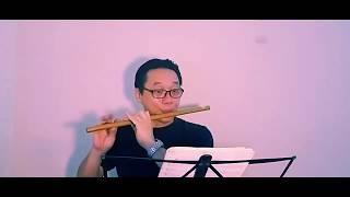Kanayo kanayo (愛よ愛よ) - Sáo trúc Nsut Đinh Linh || Một bản nhạc Nhật ngọt ngào