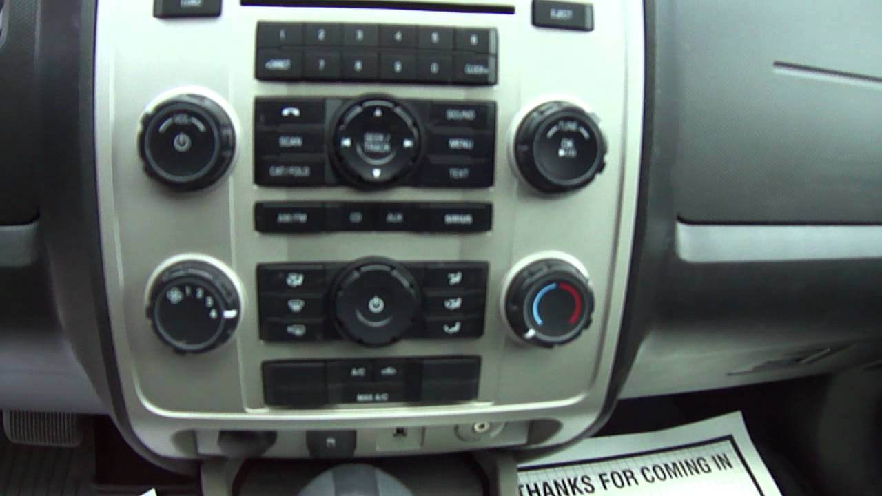 2010 Ford Escape Xlt Youtube