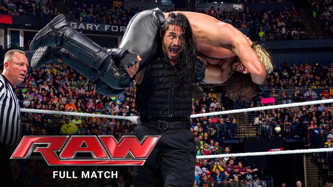 Download FULL MATCH - Roman Reigns & Daniel Bryan vs. Randy Orton & Seth Rollins: Raw, Feb. 23, 2015