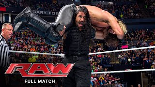 FULL MATCH - Roman Reigns & Daniel Bryan vs. Randy Orton & Seth Rollins: Raw, Feb. 23, 2015