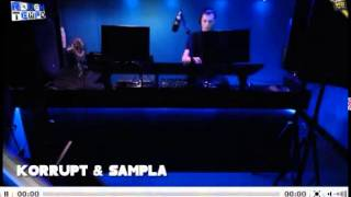 Korrupt b2b Sampla on RoughTempo 27.MAY.2013
