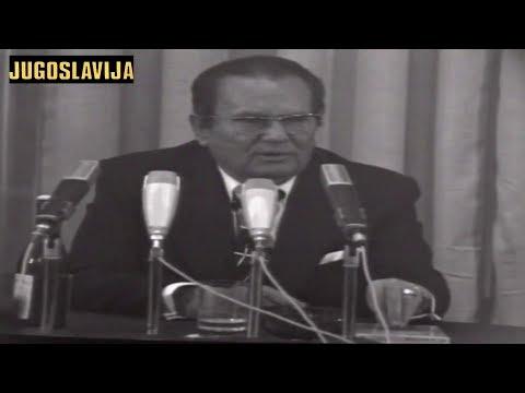 Josip Broz TITO objasnio problem Kosova - KOSOVO MORA DA NAPREDUJE a ne stagnira U JUGOSLAVIJI! 1975
