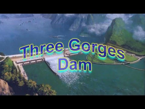 Three Gorges Dam in China changed the rotation of the Earth