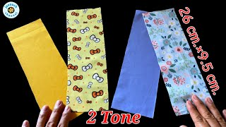 New Design Very Cute Face Mask Very Breathable 2 Tone Easy Face Mask Face Mask Sewing Tutorial
