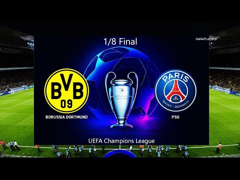 Dortmund Vs Psg Uefa Champions League Highlights And All Goals 2 18 2020