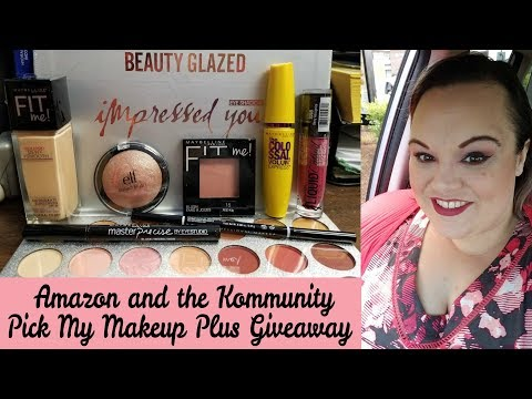 Amazon and the Kommunity Pick My Makeup | Plus 25,000 Subscriber Giveaway