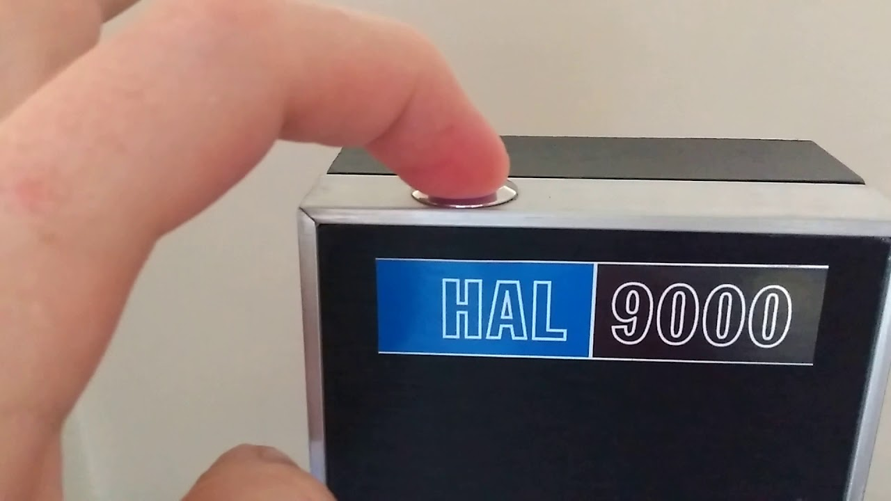 HAL9000 + raspberry pi i google assistant