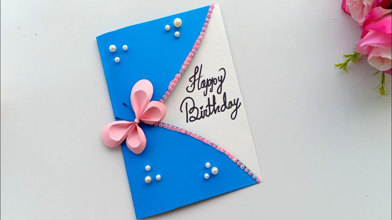 Beautiful Handmade Happy birthday Card Idea / DIY Greeting Cards for  birthday.