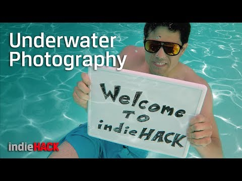 Photography Tips – How to shoot with a GoPro or Smartphone Underwater 🌊 indieHack Ep 13