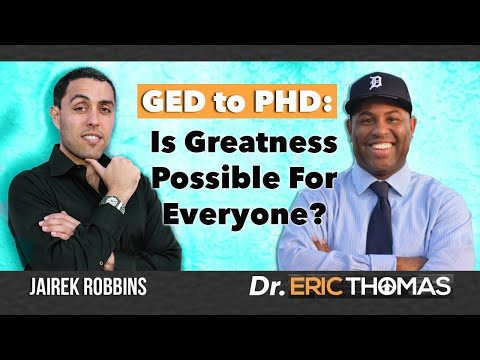 Interview With Eric Thomas - Is Greatness For Everyone?