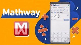تطبيق Mathway - للمساعدة في حل المسائل الرياضية بأنواعها