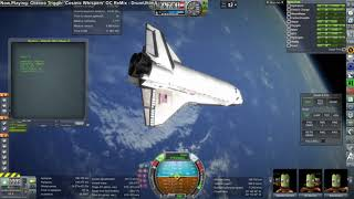 Kerbal Space Program - Shuttle-Constructed Mars Mission 01