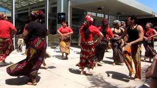 Gahu 2.-Performance african dance, SWC Spring 2011