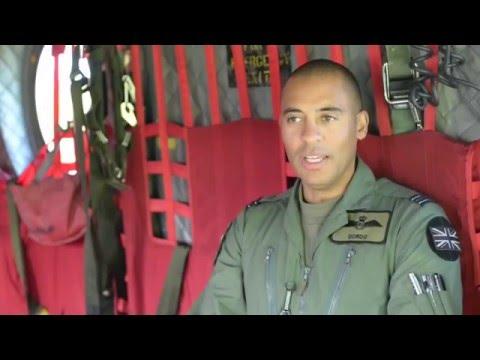 RAF Pilot - Flight Lieutenant Chris Gordon Interview