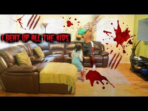 I BEAT UP THE KIDS PRANK (100,000 DISLIKES PLEASE)