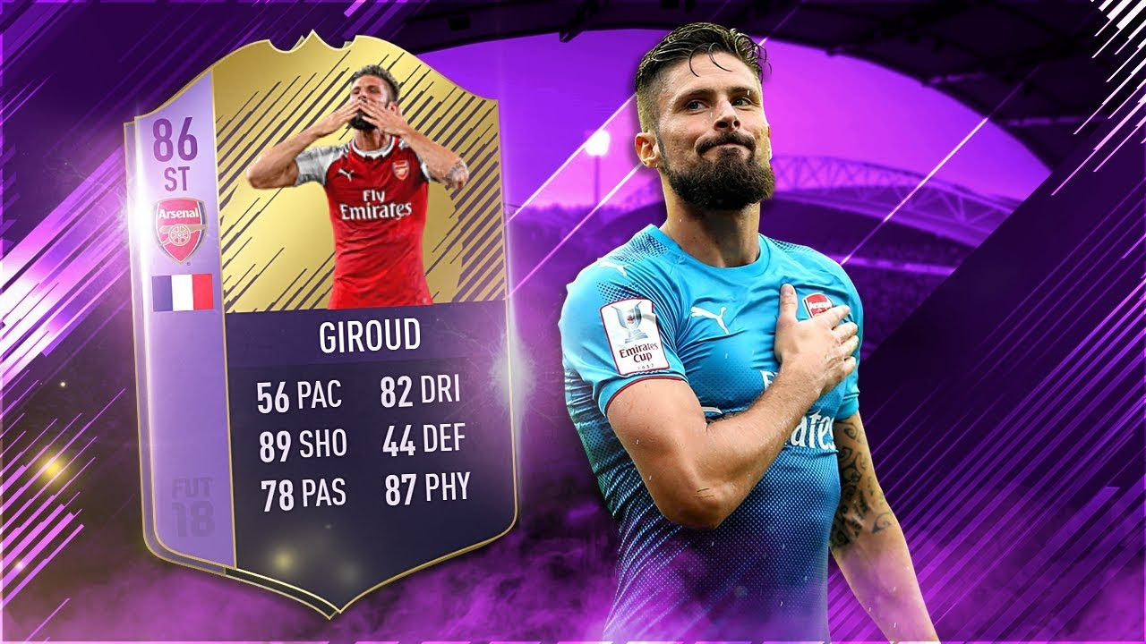 Olivier giroud fifa 2018 agent fifa manager