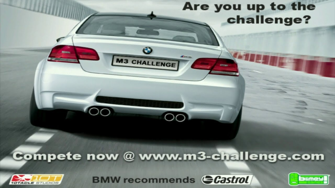 BMW M3 Challenge PC game | Secret Road 270 KMPH - YouTube