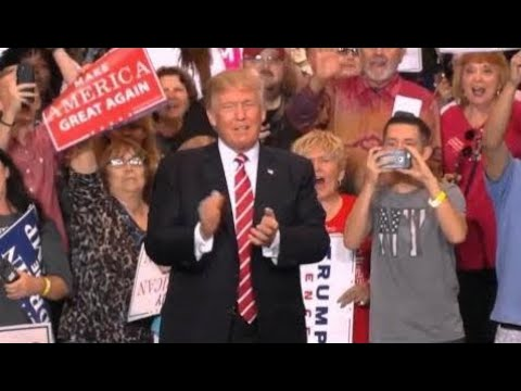 Breaking News:  President Trump rally in Phoenix, Arizona. August 22, 2017. Full Event.