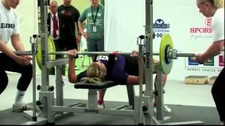 World Cup 2012 Classic Powerlifting Women -72 Bench Press