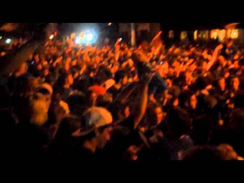PROJECTLEX!! UK Fans Riot on State Street after National Championship video