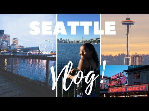 TRAVEL WITH ME | Follow me around Seattle + Travel Vlog