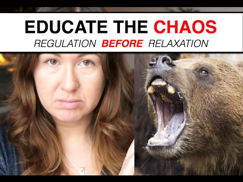 Educate The Chaos || Regulation Before Relaxation || IRENE LYON