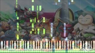 """【ピアノ4手連弾】ポケットモンスターAG OPより「アドバンス・アドベンチャー」【Piano Four Hands】Pokemon AG OP1 """"Advance Adventure"""""""