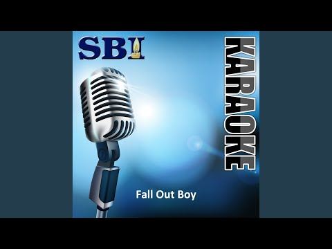 I Slept with Someone in Fall out Boy & All I Got Was This Stupid Song Written About Me (Karaoke...