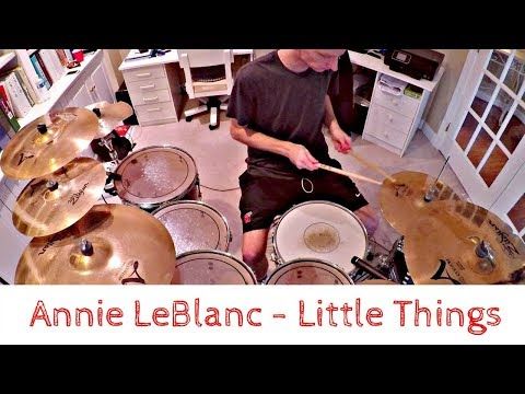 Annie Leblanc - Little Things (Drum Cover)