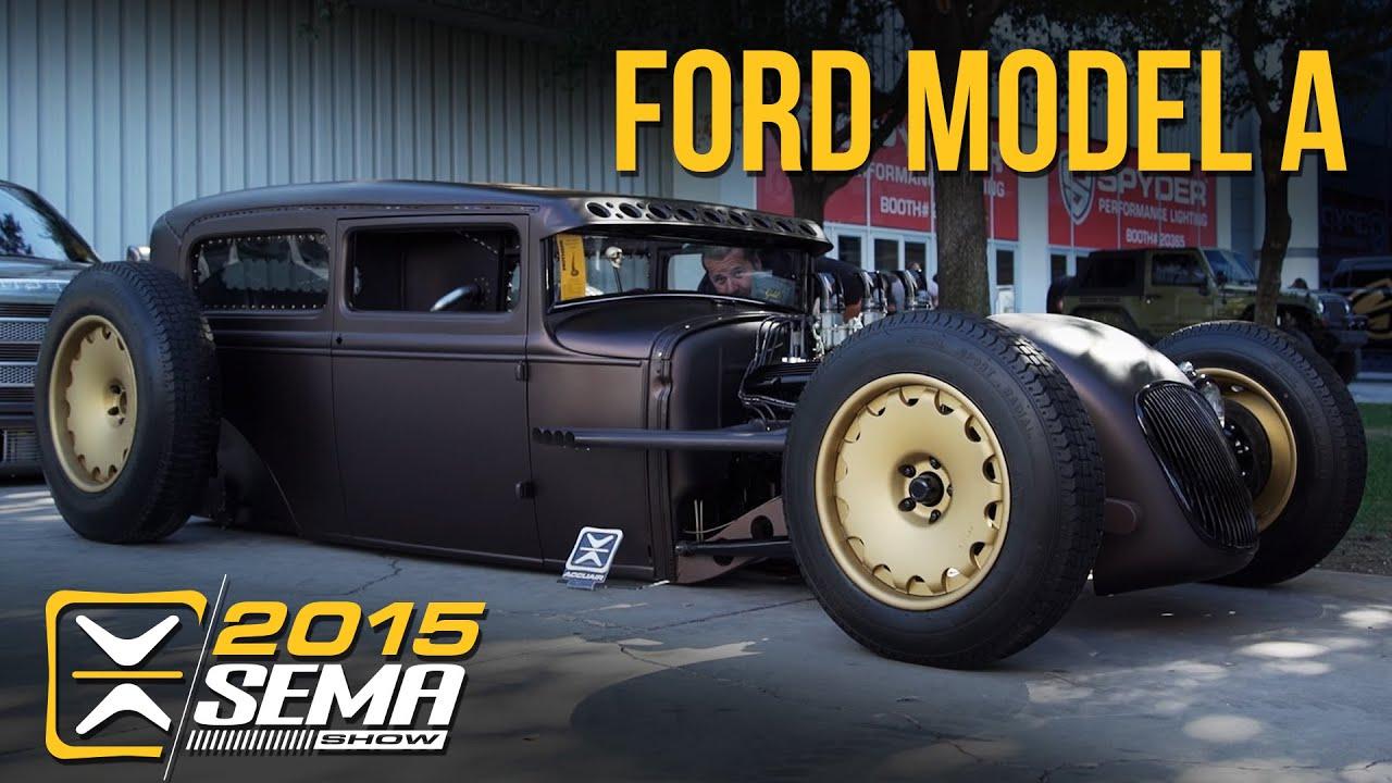SEMA 2015 | Ford Model A | Tucci Hot Rods - YouTube